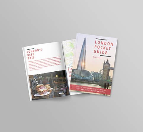 perfect bound brochures a6