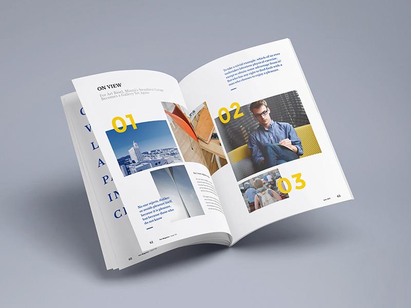saddle stitched brochures a5