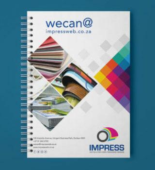 Impress A5 Notebook MockUp2